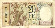 20 Francs (dark blue text) – reverse