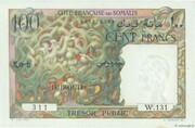 100 Francs (Côte Française des Somalis) – obverse