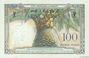 100 Francs (Côte Française des Somalis) – reverse