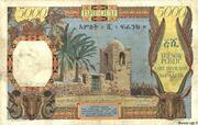 5 000 Francs (Côte Française des Somalis) – reverse