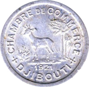 5 centimes chambers of commerce coinage french for Chambre de commerce djibouti