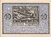 10 Heller (Sonnberg) – reverse