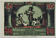 50 Pfennig (Puppetry Series - Issue A) – reverse