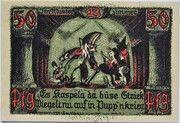 50 Pfennig (Puppetry Series - Issue B) – reverse