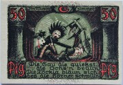 50 Pfennig (Puppetry Series - Issue C) – reverse