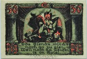50 Pfennig (Puppetry Series - Issue E) – reverse