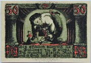50 Pfennig (Puppetry Series - Issue F) – reverse