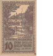 10 Heller (Sonntagberg) – obverse