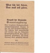 10 Heller (Sonntagberg) – reverse