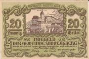 20 Heller (Sonntagberg) – obverse