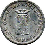 5 Centimes (Soulac sur Mer) – obverse
