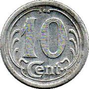 10 Centimes (Soulac sur Mer) – reverse