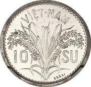 10 Su - Bảo Đại (Piefort Essai) – reverse