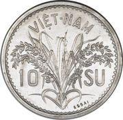 10 Su - Bảo Đại (Essai) -  reverse