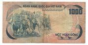 1000  Đồng – reverse