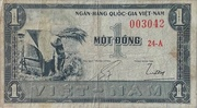 1 Dong – obverse