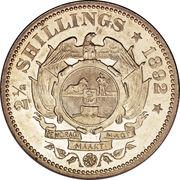 2½ Shillings (Zuid Afrikaansche Republiek) – reverse