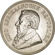 5 Shillings (Zuid Afrikaansche Republiek) – obverse