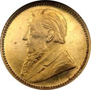 6 Pence (Zuid Afrikaansche Republiek; Gold Pattern) – obverse