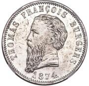 5 Shillings (Zuid Afrikaansche Republiek; Transvaal Pattern) – obverse