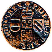 1 Oord - Felipe IV – obverse