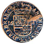 1 Oord - Felipe IV – reverse