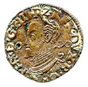 1 Duit - Felipe II (Maastricht) – obverse
