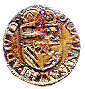1 Duit - Felipe II (Maastricht) – reverse