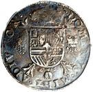 1 Philipsdaalder - Felipe II – reverse