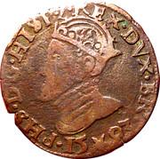 1 Oord - Felipe II (Maastricht) – obverse