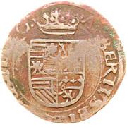 1 Duit - Albert & Isabella ('s Hertogenbosch) – obverse