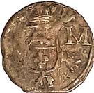 1 Duit - Carlos II (Roermond) – reverse