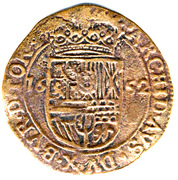 1 Liard - Philip IV -  reverse