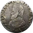 1/5 Philipsdaalder - Felipe II – obverse