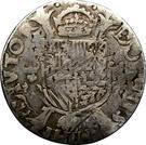 1/5 Philipsdaalder - Felipe II – reverse