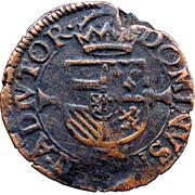 Double Courte - Philippe II – reverse