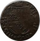 1 Duit - Felipe IV (Roermond) – obverse