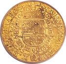 1 Souverain - Felipe IV – reverse