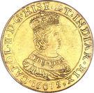 2 Souverain - Carlos II – obverse