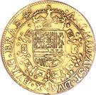 2 Souverain - Carlos II – reverse