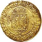 ½ Gouden Reaal - Carlos V – obverse