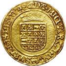 ½ Gouden Reaal - Carlos V – reverse