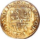 ½ Gouden Reaal - Felipe II – reverse