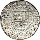 1 Patagon - Carlos II – reverse