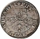 1 Bourgondische Daalder - Felipe II – obverse