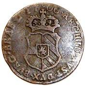 1 Duit - Carlos II (Antwerpen) – reverse