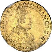2 Souverain - Felipe IV – obverse
