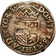 1 Duit - Felipe II – reverse