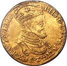 1 Gouden Reaal - Felipe II – obverse