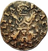 1 Statenduit - Felipe II (Antwerpen) – reverse